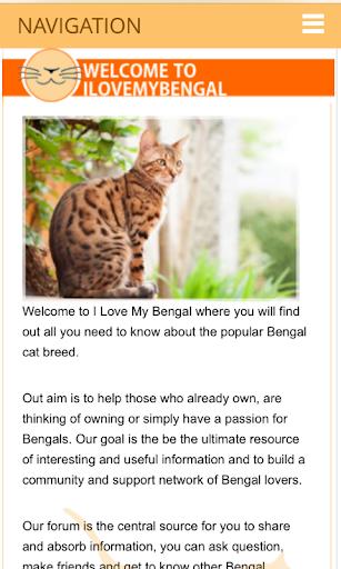 I Love My Bengal