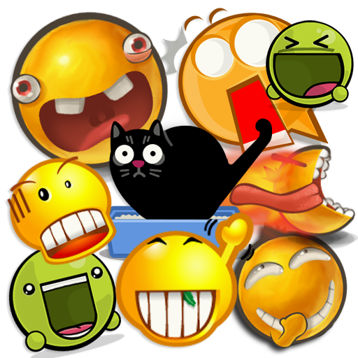 Chats Emoticons, Pack Support LOGO-APP點子