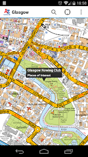 Glasgow A-Z Map by Zuti- screenshot thumbnail