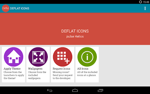 Deflat Icon Pack - Paid v1.1.0