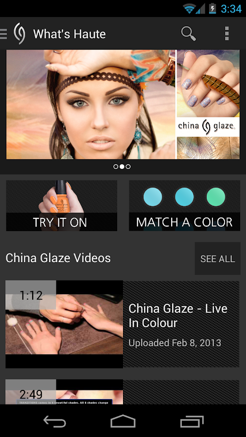 China Glaze - screenshot
