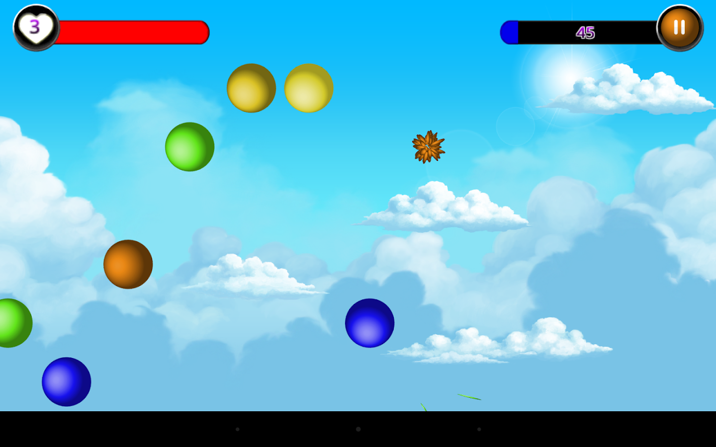 Capture Balls- screenshot