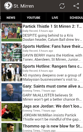 St. Mirren FC Fan App