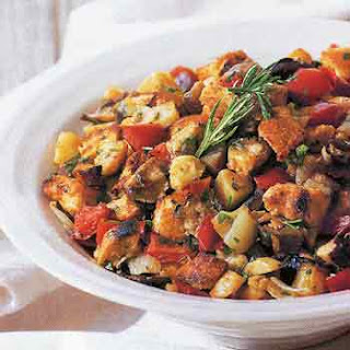 Roasted Vegetable and Chestnut Stuffing
