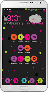 Sweet Pea Go Launcher Theme