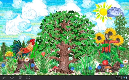 Времена года для детей для планшетов на Android