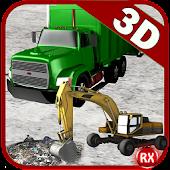 Garbage: Truck & Excavator