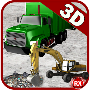 Garbage: Truck & Excavator for PC and MAC