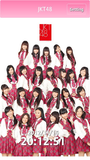 "Download Alarm Clock App of ""JKT48"""