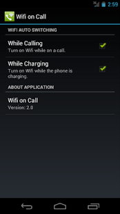 Wifi on Call Screenshot 1