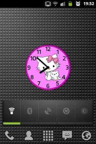 玩免費個人化APP|下載Hello Kitty 2013 clock app不用錢|硬是要APP