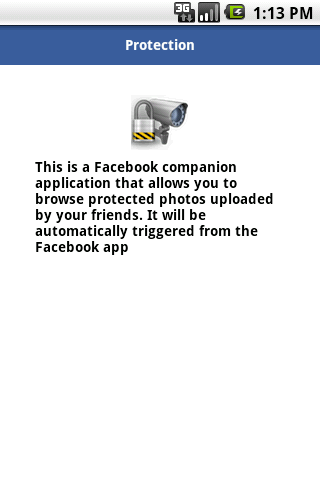 Privacy Protection Service- screenshot