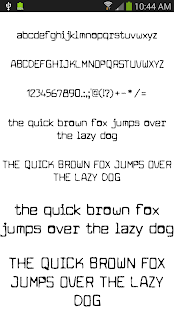 Fonts for FlipFont 50 #2 - screenshot thumbnail