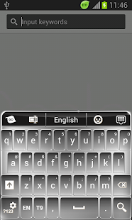 鍵盤的主題為銀河S5