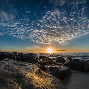 Sunrise by Jane Chen - Landscapes Beaches