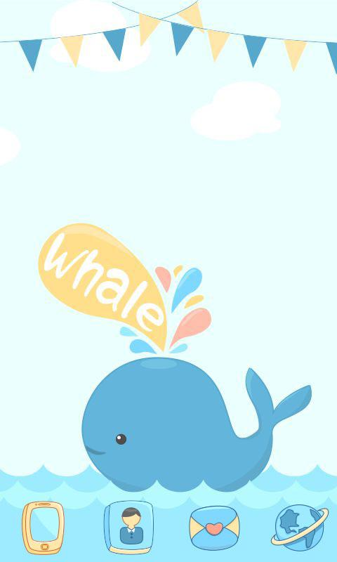 Whale GO Locker Reward Theme - screenshot