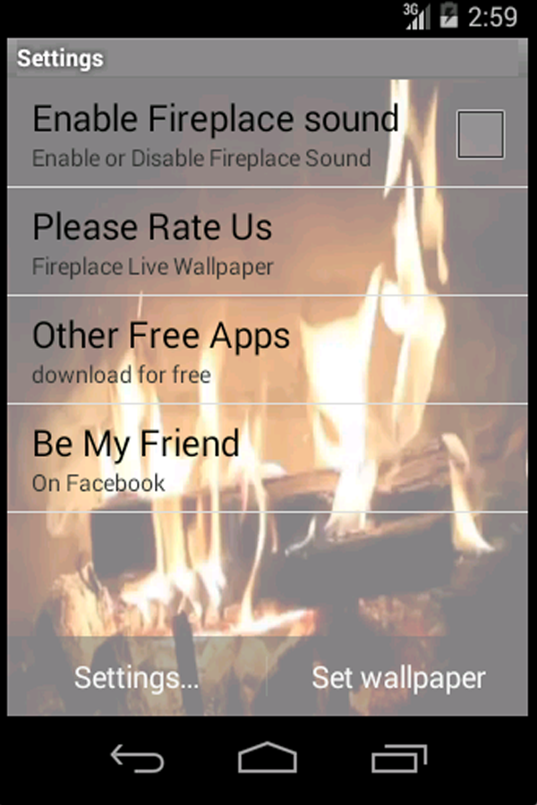 Fireplace Design fireplace video download : Real Fireplace Live Wallpaper - Android Apps on Google Play