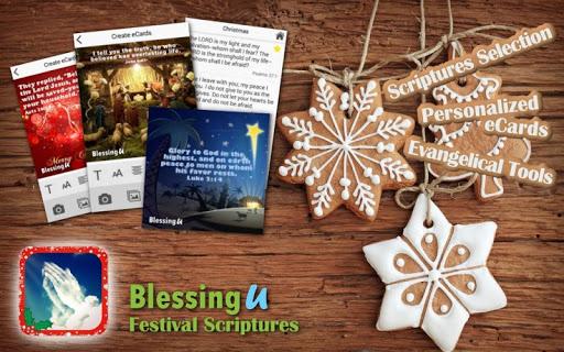 BlessingU Festival Scriptures