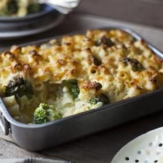 Cauliflower and Broccoli Mac'N'Cheese Recipe
