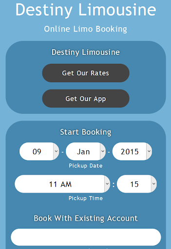 【免費交通運輸App】Destiny Limousine Booking App-APP點子