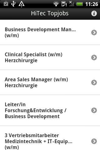 HiTec Jobs- screenshot