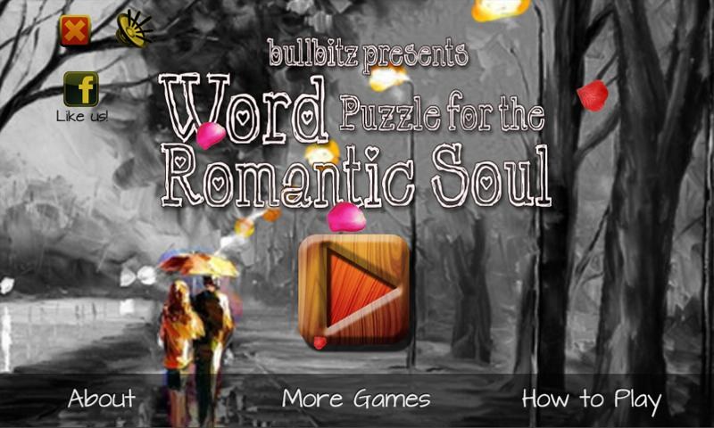WORD PUZZLE for ROMANTIC SOUL- screenshot
