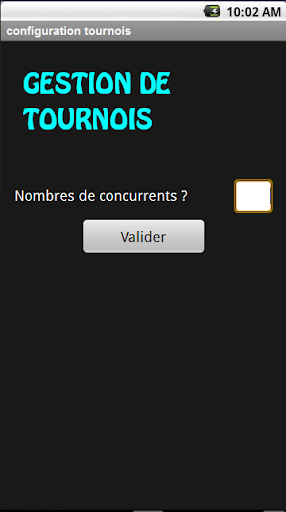 Gestion 2 Tournois