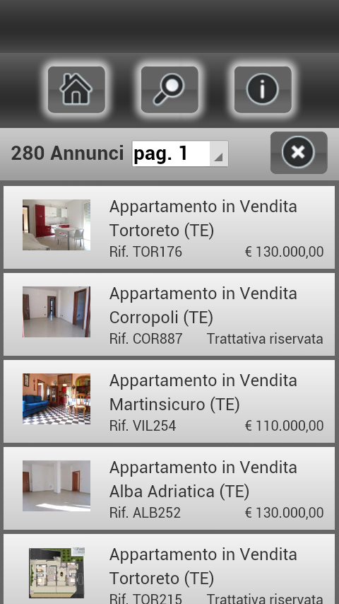 Immobiliare Ortolano- screenshot