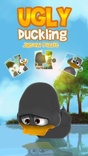 醜小鴨拼圖遊戲