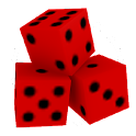 Crazy Virtual Dice 3D icon