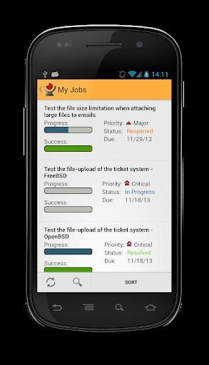 Klaros-Testmanagement App