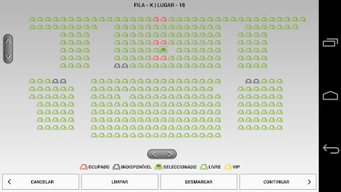 m.Ticket Cinemas NOS Screenshot 8