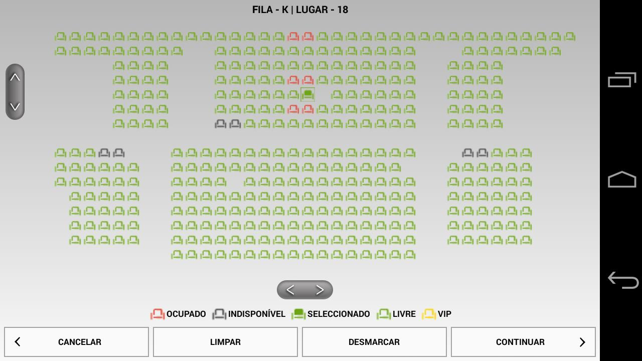 m.Ticket Cinemas NOS- screenshot