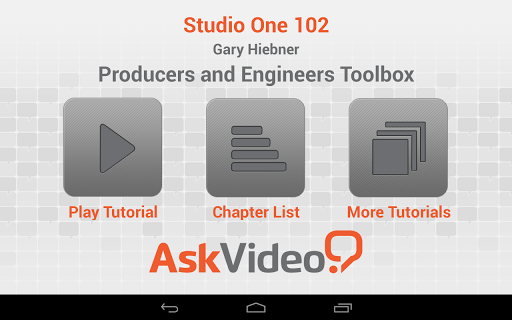 Producers Engineers Toolbox