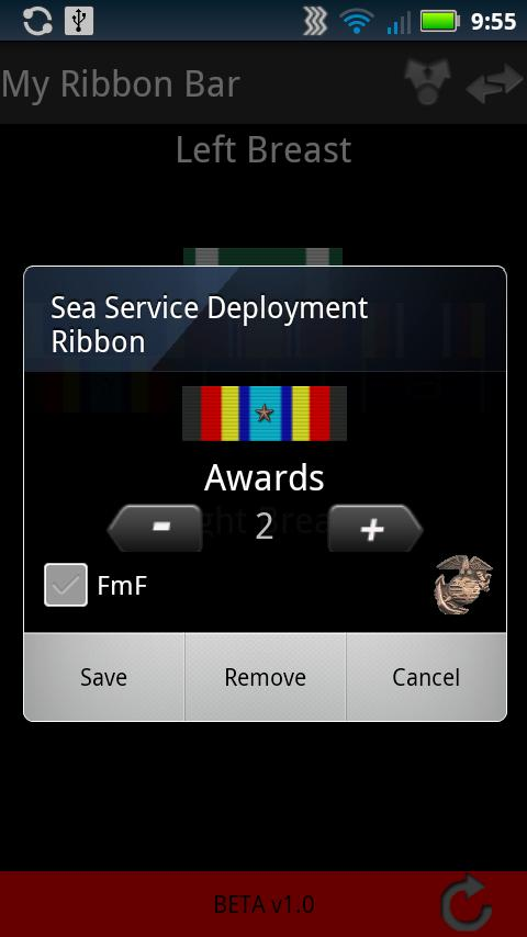 Military Awards- screenshot