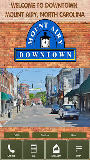 Mount Airy Downtown Business