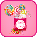candypop go launcher theme icon