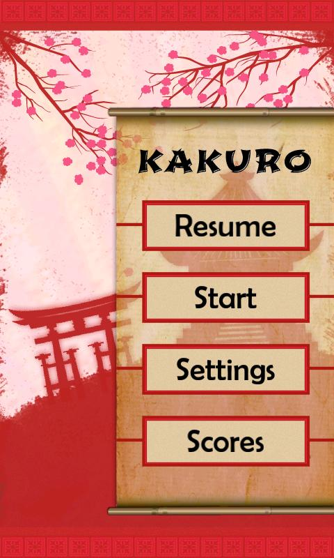 Kakuro Puzzles- screenshot