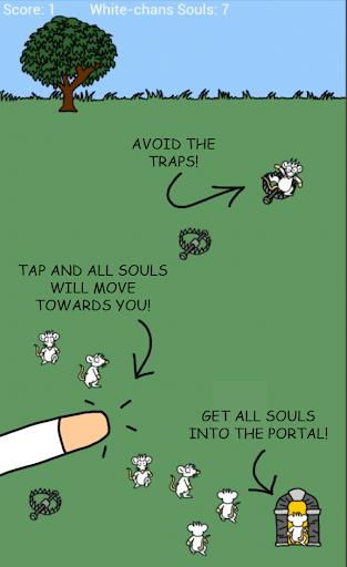 Saving White-chan's Souls