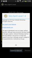 Screenshot of Very Spirit Level