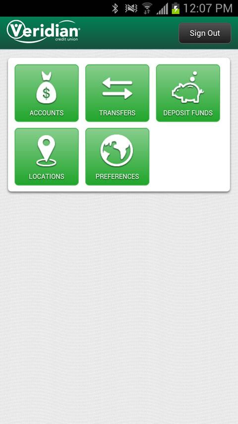Veridian Mobile Banking - screenshot