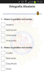 TestManager +Policia Nacional - screenshot thumbnail