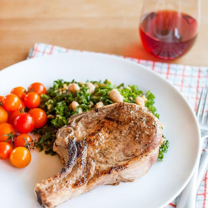 Bone-on Pork Chops Recipe