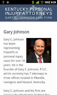 Kentucky PI Attorneys- screenshot thumbnail