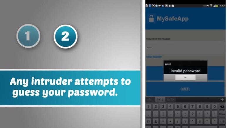 MySafeApp Pro- screenshot