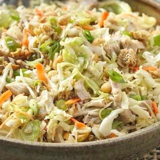 Oriental Crunchy Ramen Chicken Salad