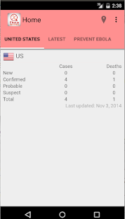 Ebola Prevention App- screenshot thumbnail