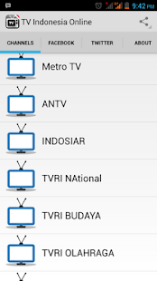TV Indonesia Online - screenshot thumbnail
