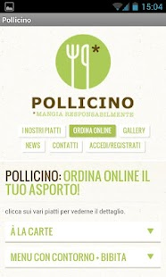 RistoBio Pollicino- screenshot thumbnail