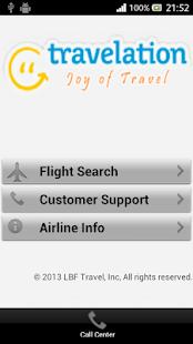 Travelation - Cheap Flights - screenshot thumbnail